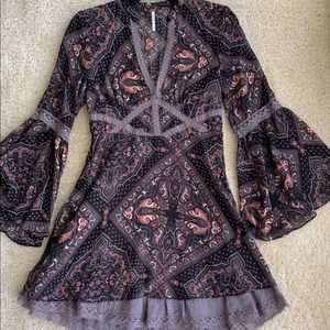 Free People boho dress size 0